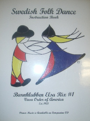 COVER IMAGE OF: 'Swedish Folk Dance Instruction               Book'